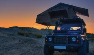 Deluxe Overland cheap roof top tent