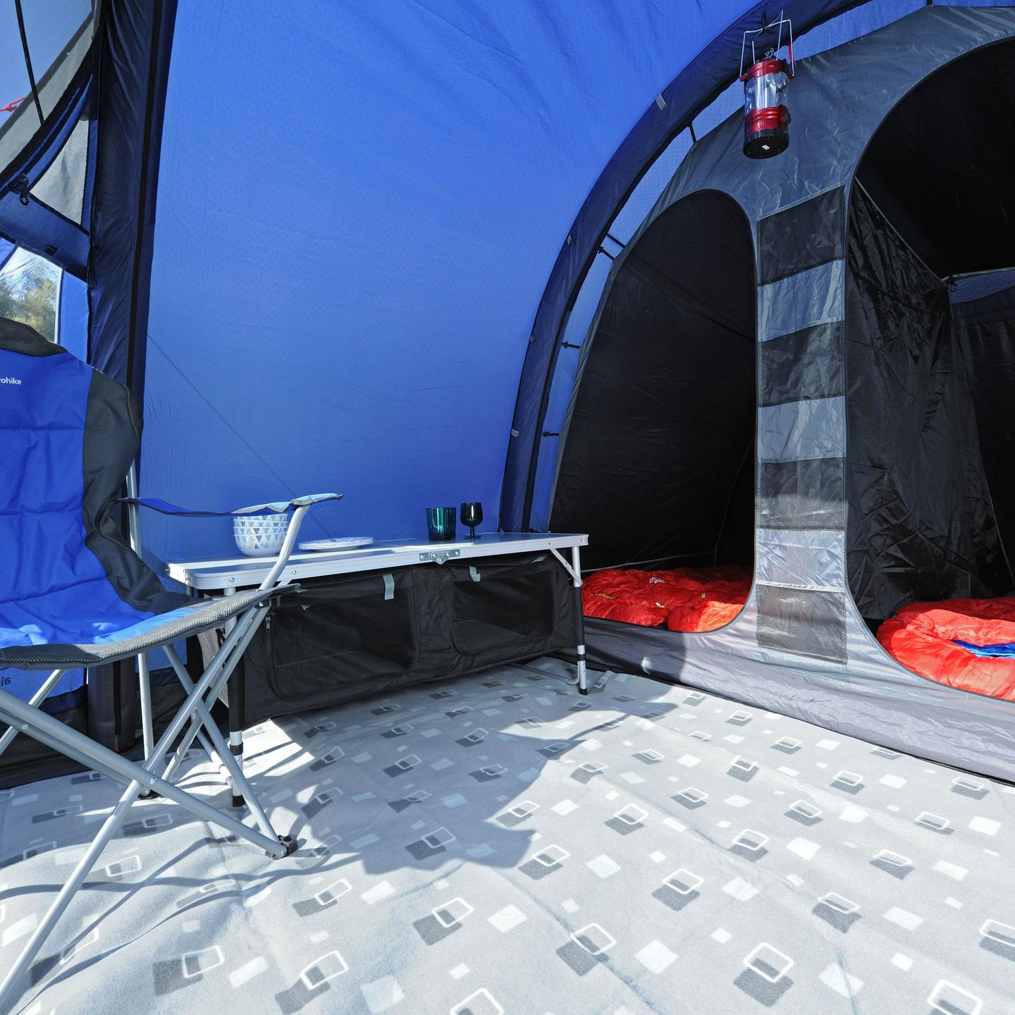 inflatable tent for camping with the family