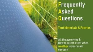 tent fabrics materials meaning