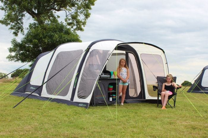 Outdoor Revolution Airedale 5 - plenty of space for a smaller family
