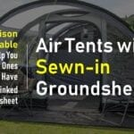 Best Air Tents with Sewn-in Groundsheet