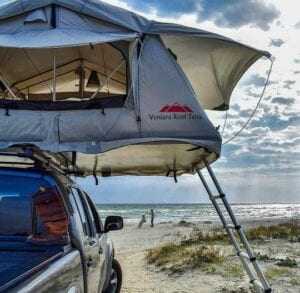 lot of features for a very low price. No wonder that the Ventura Deluxe 1.4 is the cheapest roof top tent right now in the UK, but it does not mean that the Ventura Deluxe roof tent has the lowest quality.