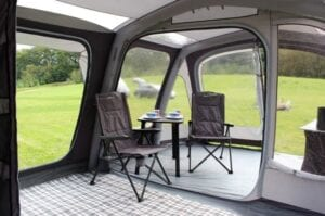 Outdoor Revolution Mojave 5.0 PC air tent with porch - or living room?