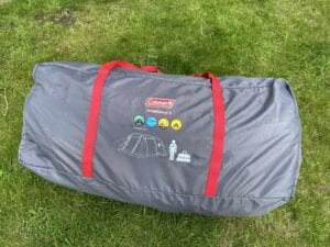 Not too big and not too heavy the Coleman Mosedale 5 carrybag