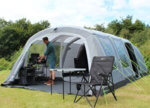 Outdoor Revolution Camp Star 600 - Good size family tent that you won't regret buying, just don't look at the competition.