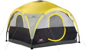 Coleman 2-in-1 Tent & Shelter best 4 person tents reviewed 10TS tents