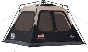 Coleman Instant 4-person Cabin Tent - best 4-person tents reviewed - 10TS-tents