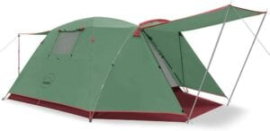 KAZOO 4-person Camping tent Best 4-person tents reviewed 10TS-tents