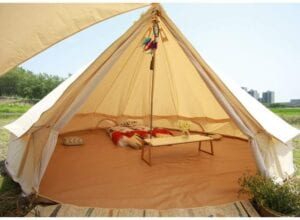 Unistrength 5M Bell Tent / Glamping Tent best 6 man canvas tent 10ts tents